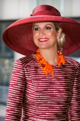 Queen Máxima, June 19, 2015 in Fabienne Delvigne | Royal Hats