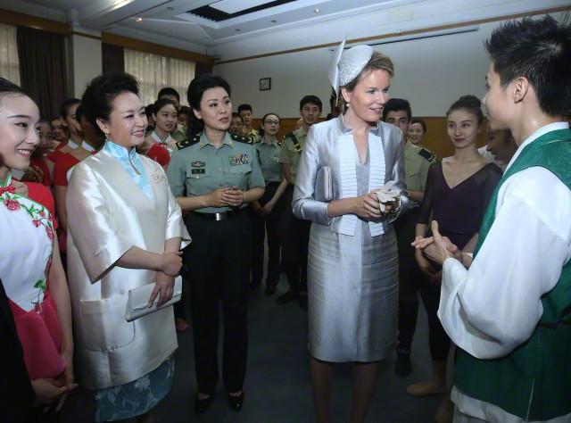 Queen Mathilde, June 24, 2015 in Philip Treacy   Royal Hats