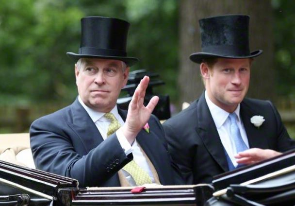 Duke of York and Prince Harry, June 16, 2015 | Royal Hats