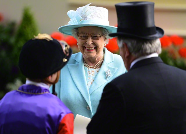 Queen Elizabeth, June 18, 2015 in Angela Kelly | Royal Hats