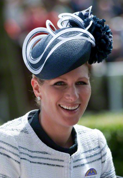 Zara Phillips, June 19, 2015 in Rosie Olivia | Royal Hats