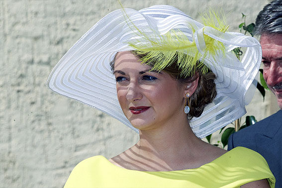 Princess Stèphanie, June 23, 2015 | Royal Hats