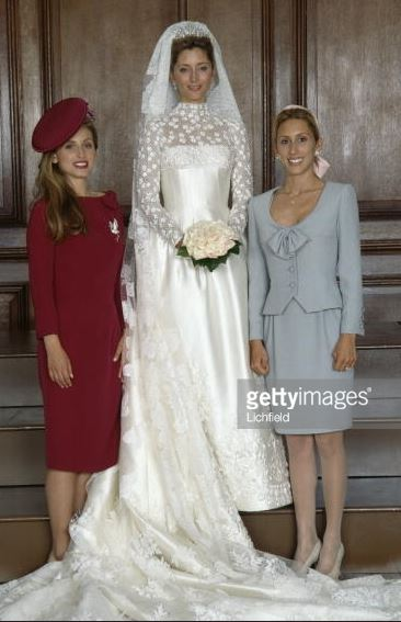 Pia Getty and Alexandra Miller, July 1, 1995 | Royal Hats