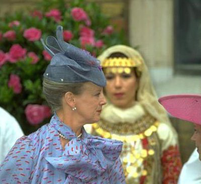 Queen Margrethe, July 1, 1995   Royal Hats