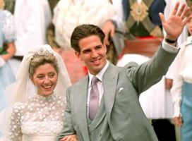 Prince Pavlos and Marie-Chantal Miller, July 1, 1995 | Royal Hats