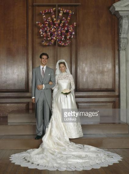 Crown Prince Pavlos and Marie-Chantal Miller, July 1, 1995 | Royal Hats