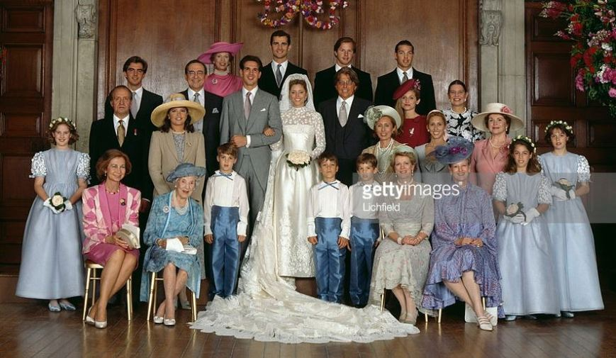 Greek Royal wedding, July 1, 1995   Royal Hats