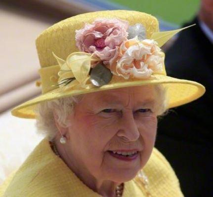 Queen Elizabeth, June 19, 2015 in Rachel Trevor Morgan