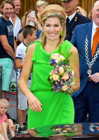 Queen Máxima, July 7, 2015 in Fabienne Delvigne | Royal Hats