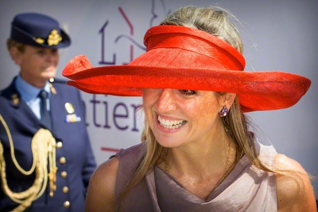 Queen Máxima, July 9, 2015 in Fabienne Delvigne | Royal Hats
