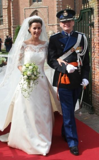 Prince Pieter-Christiaan of Orange-Nassau and Anita Van Eijk, August 25, 2005 | Royal Hats