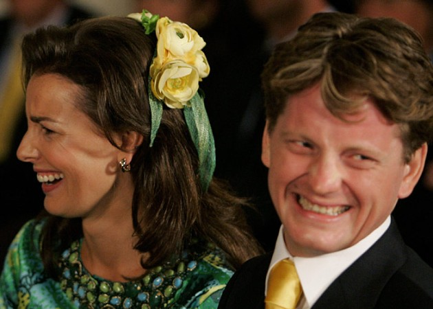 Prince Pieter-Christiaan and Anita van Eijk, August 25, 2005 | Royal Hats