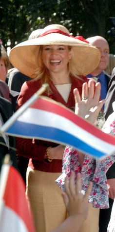 Princess Máxima, March 31, 2006 in Fabienne Delvigne | Royal Hats