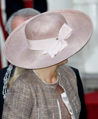 Princess Máxima, October 5, 2011 in Fabienne Delvigne | Royal Hats