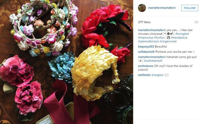 Marta Ferri, August 1, 2015 in Piers Atkinson | Royal Hats