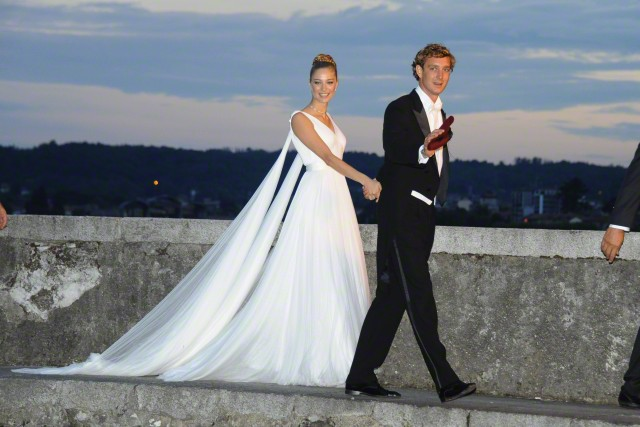 Pierre Casiraghi and Beatrice Borromeo, August 1, 2015  Royal Hats