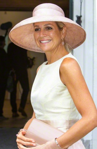 Queen Máxima, August 26, 2015 in Fabienne Delvigne | Royal Hats