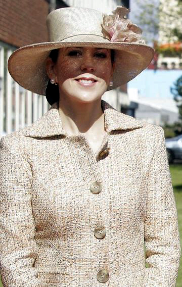 Crown Princess Mary, May 5, 2005 in Susanne Juul |Royal Hats