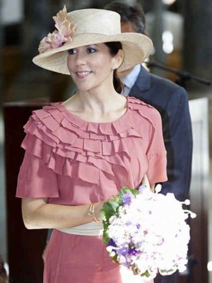 Crown Princess Mary, September 18, 2009 in Susanne Juul |Royal Hats