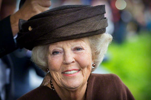 Princess Beatrix, September 5, 2015 in Suzanne Moulijn | Royal Hats