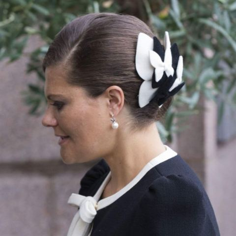 Crown Princess VIctoria, September 15, 2015 in Malinda Damgaard | Royal Hats