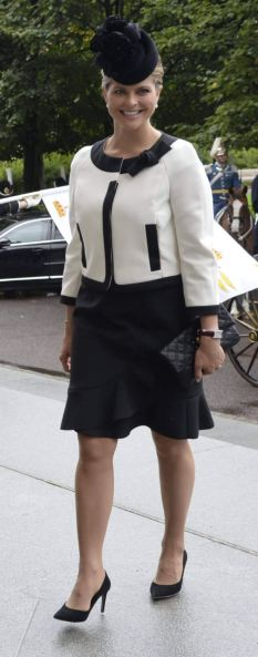 Princess Madeleine, September 15, 2015 | Royal Hats