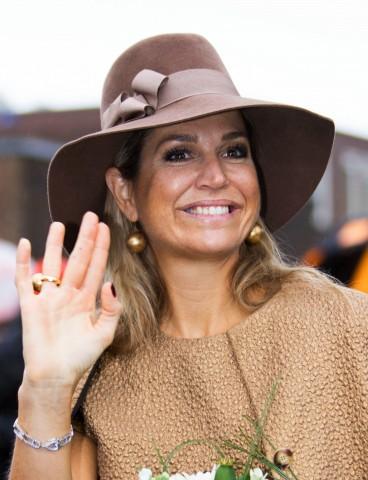 Queen Máxima, September 17, 2015 in Fabienne Delvigne | Royal Hats