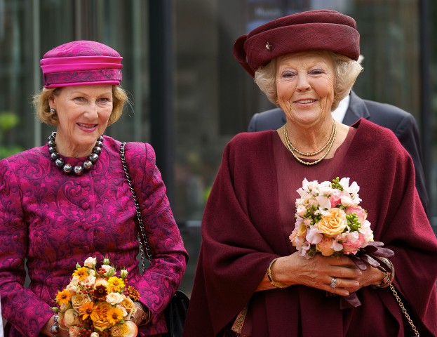 Queen Sonja and Princess Beatrix, September 23, 2015 | Royal Hats