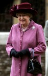 Britain's Queen Elizabeth II leaves St Mary Magdalene's church after the Royal Family's Christmas Day service on the Sandringham estate in eastern England