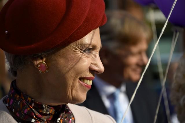 Princess Benedikte, October 5, 2015 in Susanne Juul | Royal Hats