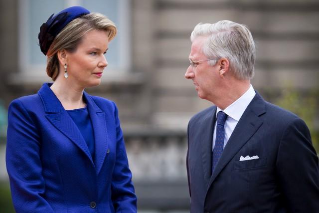 Queen Mathilde, October 5, 2015 in Elvis Pompilio | Royal Hats