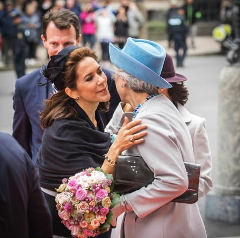 Princess Mary and Princess Benedikte, October 6, 2015 | Royal Hats