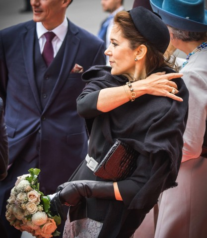 Crown Princess Mary, October 6, 2015 in Susanne Juul | Royal Hats
