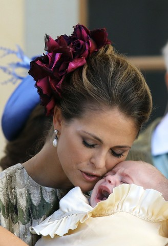 Princess Madeleine, October 11, 2015 in Philip Treacy | Royal Hats