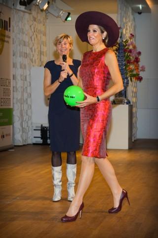 Queen Máxima, October 13, 2015 in Fabienne Delvigne | Royal Hats