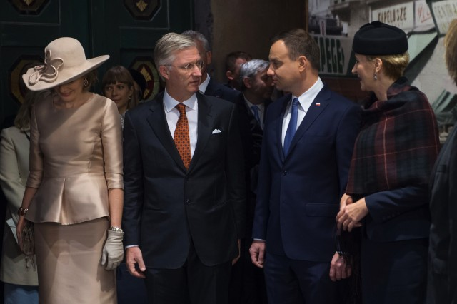 Queen Mathilde, October 15, 2015 in Fabienne Delvigne | Royal Hats