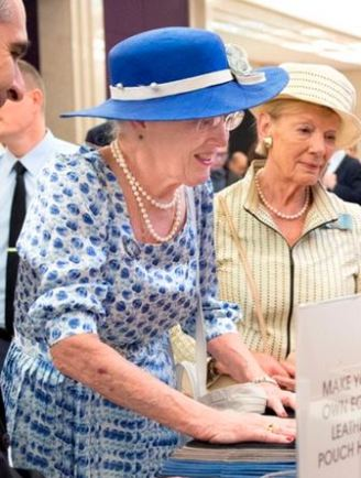 Queen Margrethe, October 23, 2015 | Royal Hats