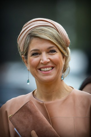 Queen Máxima, October 25, 2015 in Fabienne Delvigne | Royal Hats