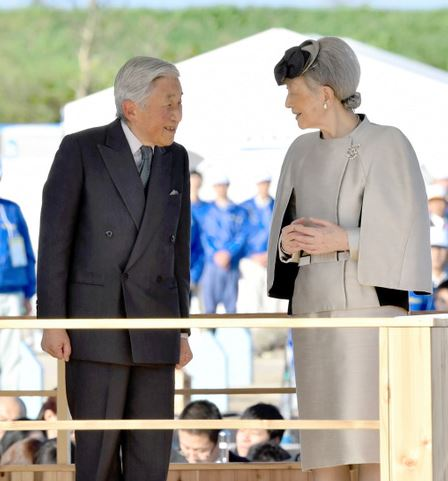 Empress Michiko, October 25, 2015 | Royal Hats