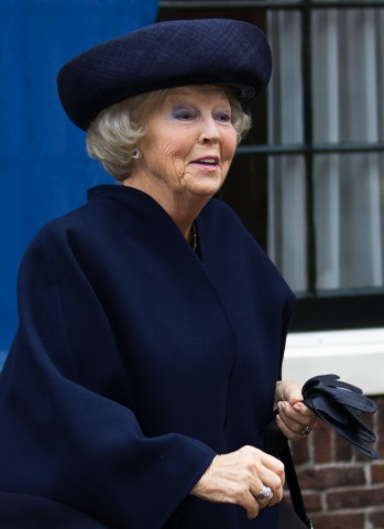 Princess Beatrix, October 28, 2015 in Suzanne Moulijn | Royal Hats