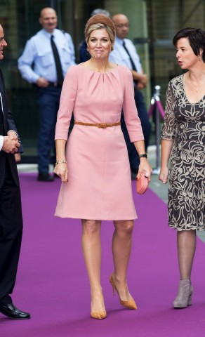 Queen Máxima, November 12, 2015 in Fabienne Delvigne | Royal Hats