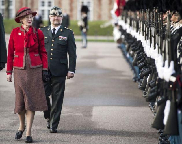 Queen Margrethe, November 18, 2015