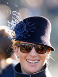 Zara Phillips Tindall, March 10, 2015 in Rosie Oliva | Royal Hats