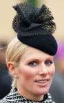 Zara Phillips Tindall, March 11, 2015 in Rosie Olivia | Royal Hats