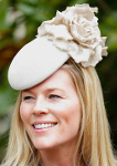 Autumn Phillips, April 5, 2015 in Emily London | Royal Hats