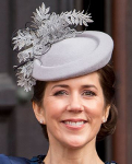 Princess Mary, April 16, 2015 in Jane Taylor | Royal Hats