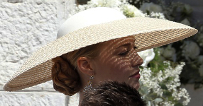 Beatrice Boromeo, May 10, 2015 | Royal Hats
