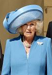 Duchess of Cornwall, May 12, 2015 in Philip Treacy | Royal Hats