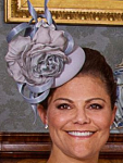 Crown Princess Victoria, May 17, 2015 in Philip Treacy | Royal Hats