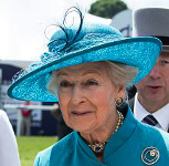 Princess Alexandra, June 6, 2015 in Rachel Trevor Morgan | Royal Hats
